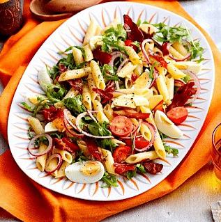 Салат с пастой