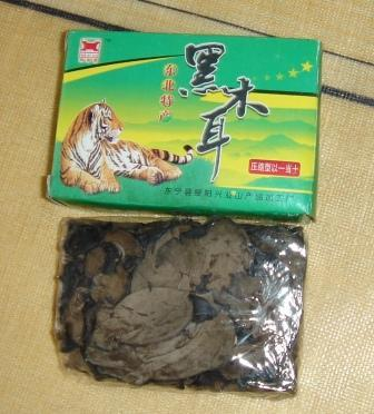 сушеные китайские грибы