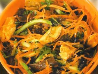 китайский салат из спаржи