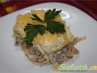 рецепт салат мужской каприз