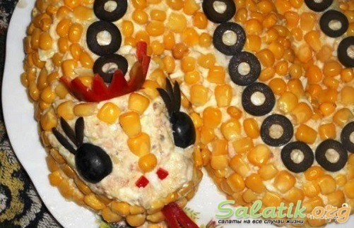 змейка рецепт блюда пошагово
