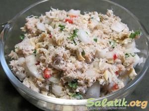 готовим салат сибирский пошагово