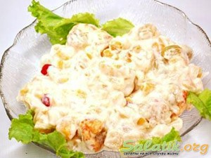 салат сибирский в салатнице