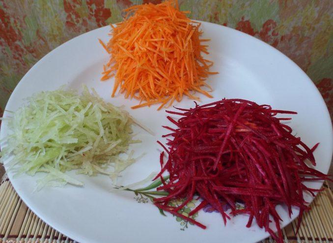 Морковь, свекла, редька