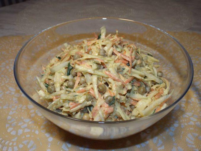 Салат капустный с карри