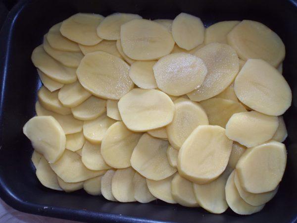Картошка пластиками