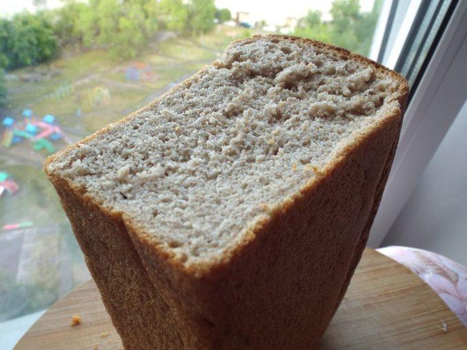 Хлеб ржано-пшеничный в духовке