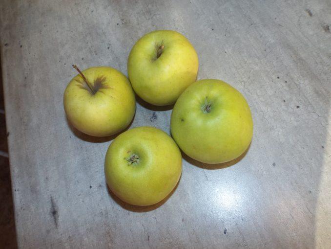 Рогалики с яблоками