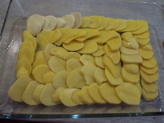 Запеканка из сырого картофеля