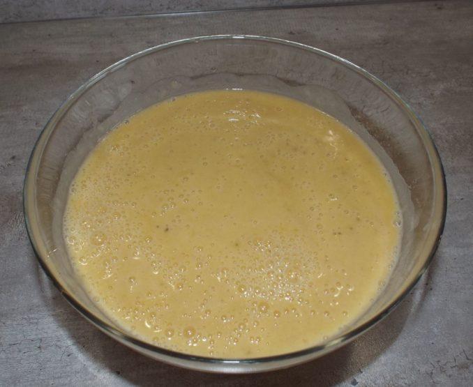 Банановый кекс с орехами