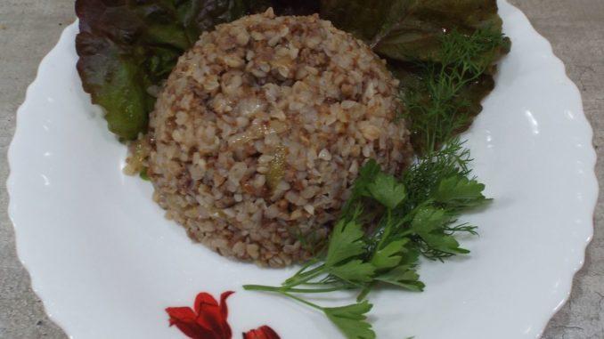 Гречневая каша с мясом