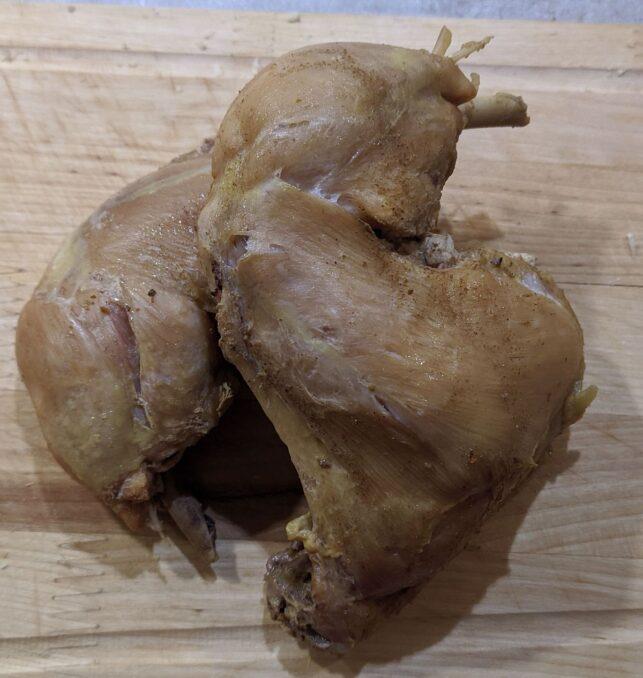 Курица вареная