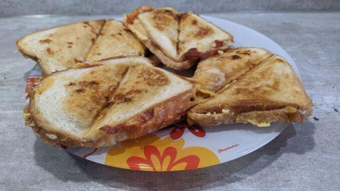 горячие бутерброды в мультипекаре