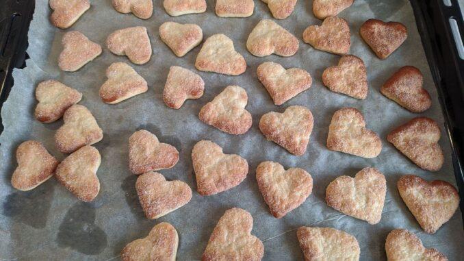 Домашнее печенье на сметане