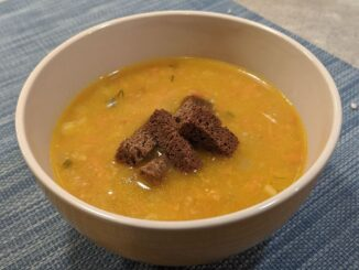 суп с тыквой и кукурузой