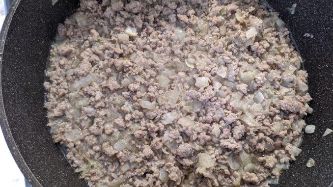 Картофельная запеканка в молочном соусе